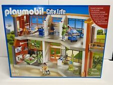 PLAYMOBIL City Life Furnished Children's Hospital Playset 6657 NEW