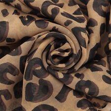 Fashion Women Long Style Wrap Lady Shawl Leopard Scarf Scarves Stole New BE
