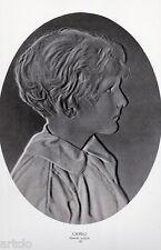 """Héliogravure - 1925 -      """" Cameo  -  Ethel-M. Eadon  """""""