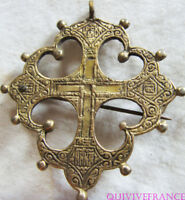 RG1022 - BROCHE CROIX RUSSE ANCIENNE