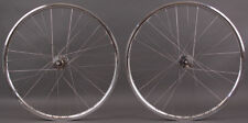 H Plus Son Archetype Silver Track Wheels Phil Wood Hubs NMSW 32 H Fixed