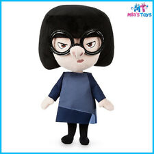 """Disney The Incredibles 2 Edna Mode 12 1/2"""" Plush Doll Toy brand new"""