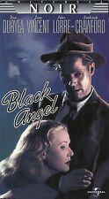 The Black Angel (VHS) NOIR!  Dan Duryea, June Vincent, Peter Lorre