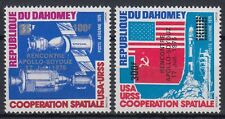 Dahomey 1975 ** Mi.630/31 Weltraum Space Apollo–Soyuz Apollo-Sojus [st1467]