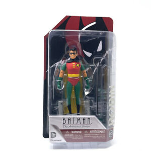 Batman The Animated Series Figure Robin with Weapons and Stand New!
