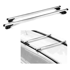 "47"" Aluminum locking Roof Rack Crossbars MDX For Universal Car Top Adjustable"