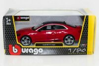 Audi RS 5 Coupe - Red, Burago 1/24 Model Car