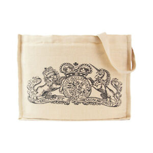 Colonial Williamsburg King's Arms Tavern Crest Tote Bag NEW Museum Canvas Logo