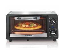 NEW Hamilton Beach 4-Slice Toaster Oven Broiler - Black 31134