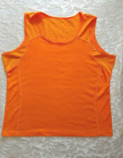 Champion orange athletic top size extra large