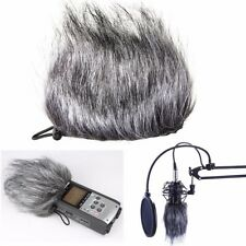 Microphone Muff Fur Windscreen For Zoom H1 H2N H4N Q3 Q3HD Sony D50 Recorder HK