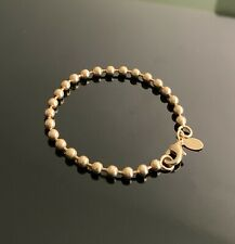 Milor rose gold tone link bracelet NEW