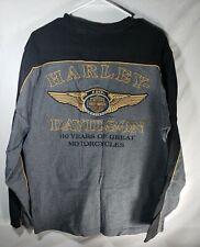 Harley Davidson Mens 110TH Anniversary Long Sleeve T Shirt Size Large
