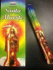 Incensio Santa Muerte- Holy Death Incense 20 Sticks-Santeria/Espiritismo/Wicca
