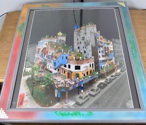 """Schönes Bild """"Hundertwasser Haus"""" Kunstdruck"""