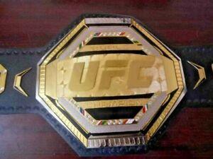 World Ufc Legacy Championship Belt Adult Size Leather.