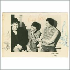 The Jam 1978 Autographed Polydor Promotional Card (UK)