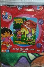Brand New Official Nickelodeon Dora Throw Size Acrylic 50X60 Blanket