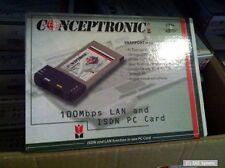 SP2LI Dynalink PCMCIA Kombi Karte für Notebooks: ISDN + 10/100 RJ-45 Netzwerk