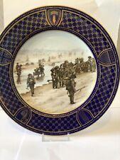 D Day Landings Sword Beach - Spode Plate - Commemorative Porcelain