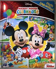 Disney Mickey Mouse Clubhouse LOOK AND FIND Little First Board Book NEW