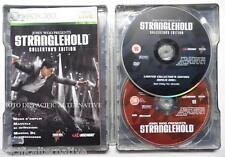 Coffret en métal jeu STRANGLEHOLD collector's edition STEELBOOK xbox 360 complet
