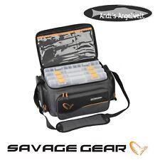 Savage Gear System Box Bag L mit 4 Boxen 54777