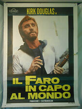 Il Faro in Capo al Mondo manifesto poster K. Douglas Yul Brynner avventura Verne