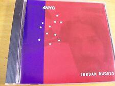 JORDAN RUDESS 4NYC  CD  MINT-