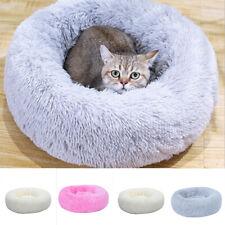 Fluffy Donut Dog Fluffy Pet Fur Large Cat Mattress Warm Bed STOCK Nest