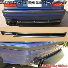 M3 Style Rear Bumper Diffuser (ABS) Fits 91-99 BMW E36 3-Series