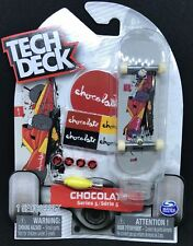 TECH DECK SINGLE  PACK CHOCOLATE  96MM FINGERBOARD SERIES 5