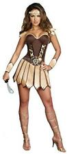 SEXY SPARTACUS SPARTAN ROMAN GREEK WARRIOR HALLOWEEN COSTUME 6 8 10