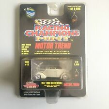1937 Ford Convertible (Tan) Racing Champions (Classic Diecast Collectibles)