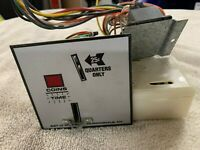 used Set-O-Matic 110 volt coin drops for a Speed Queen EG30 dryer