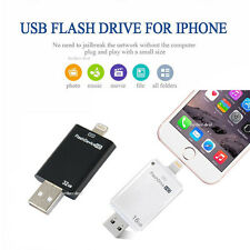 64GB 512GB USB Flash Drive Disk Memory Stick Pen for iPhone X Xs 8 7 6 6s plus 5