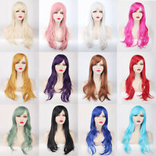 Sexy Fashion 70cm Long Curly Wigs Cosplay Costume Anime Hair New Full Wavy Party