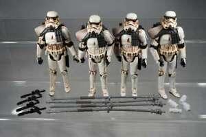 """Hasbro Star Wars - 30th Anniversary - 4x Sandtrooper Sergeant -  3,75"""" - T57"""