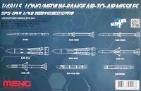 Meng Models 1:48 U.S. Long/Medium-Range Air-To-Air Missiles Model Kit