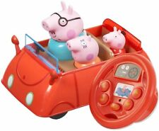 Peppa Pig Peppa's Drive & Steer Car Remote Control Vehicle Toy Playset