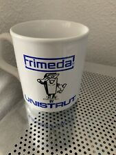 Frimeda Ceramic Mug By Unistrut Collectable Advertising Used Unwanted Work Home
