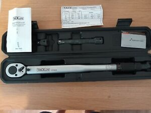 Torque wrench 1/2 drive 13.6 - 203.5 Nm. only used twice. Clean condition.