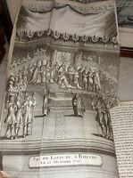 °Rel.XVIII° Gravures & Planches 5/5vol- Mémoires de la Régence, 1749