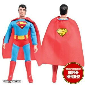 Mego Superman JLA COMPLETE Outfit Repro Boots Hat Bow Pack 8 inch Figure WGSH