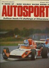 Autosport 28th 1975 de agosto * Mark Donohue mató a *