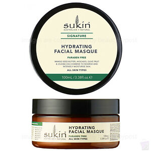 Sukin Hydrating FACE MASK for normal and dry skin Facial Masque 100ml