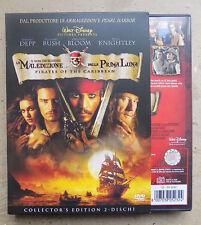 COLLECTOR'S EDITION 2 DVD - LA MALEDIZIONE DELLA PRIMA LUNA - GORE VERBINSKI- A8
