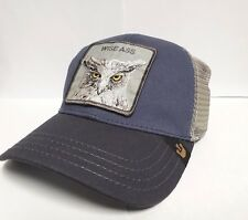 d4348a766a3 Goorin Bros Bold Hatmakers 101-2153 X the Owl Snap-Back Blue Grey