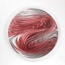 Metal Abstract Modern Wall Art Home Decor - Aurora Stream Red by Jon Allen