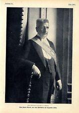 Zum Präsidentenwechsel Don Pedro Montt der neue Präsident der Republik Chile1906